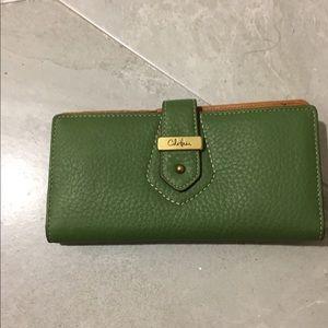 COLE HAAN Continental Green Village Unit Wallet